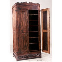 Armoire with Iron Base - 10684