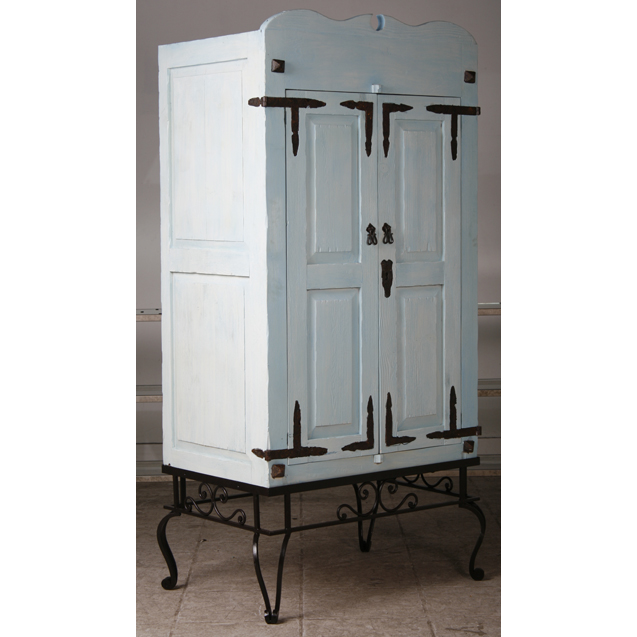 Armoire with Iron Base - 16442