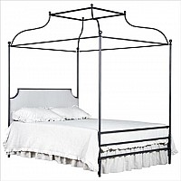 Iron Double Canopy Bed