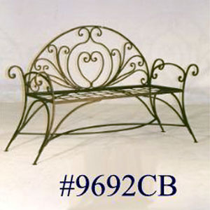 Bench - Iron - Frame - 9692