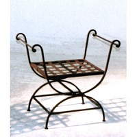 Bench - Vanity - Iron - 8010