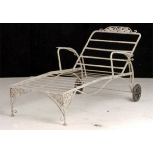 Iron Garden Chaise Lounge - 11388