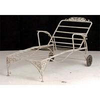 Iron Garden Chaise Lounge - 11388