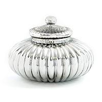 Scalloped Vintage Jar