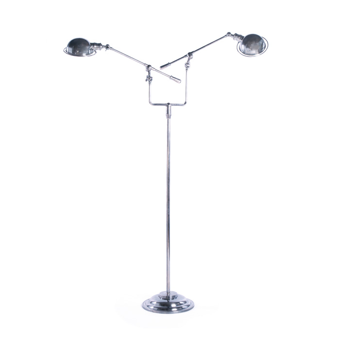 Stoneleigh Library Floor Lamp - 12380