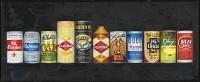 Beer Can Collection - Painting