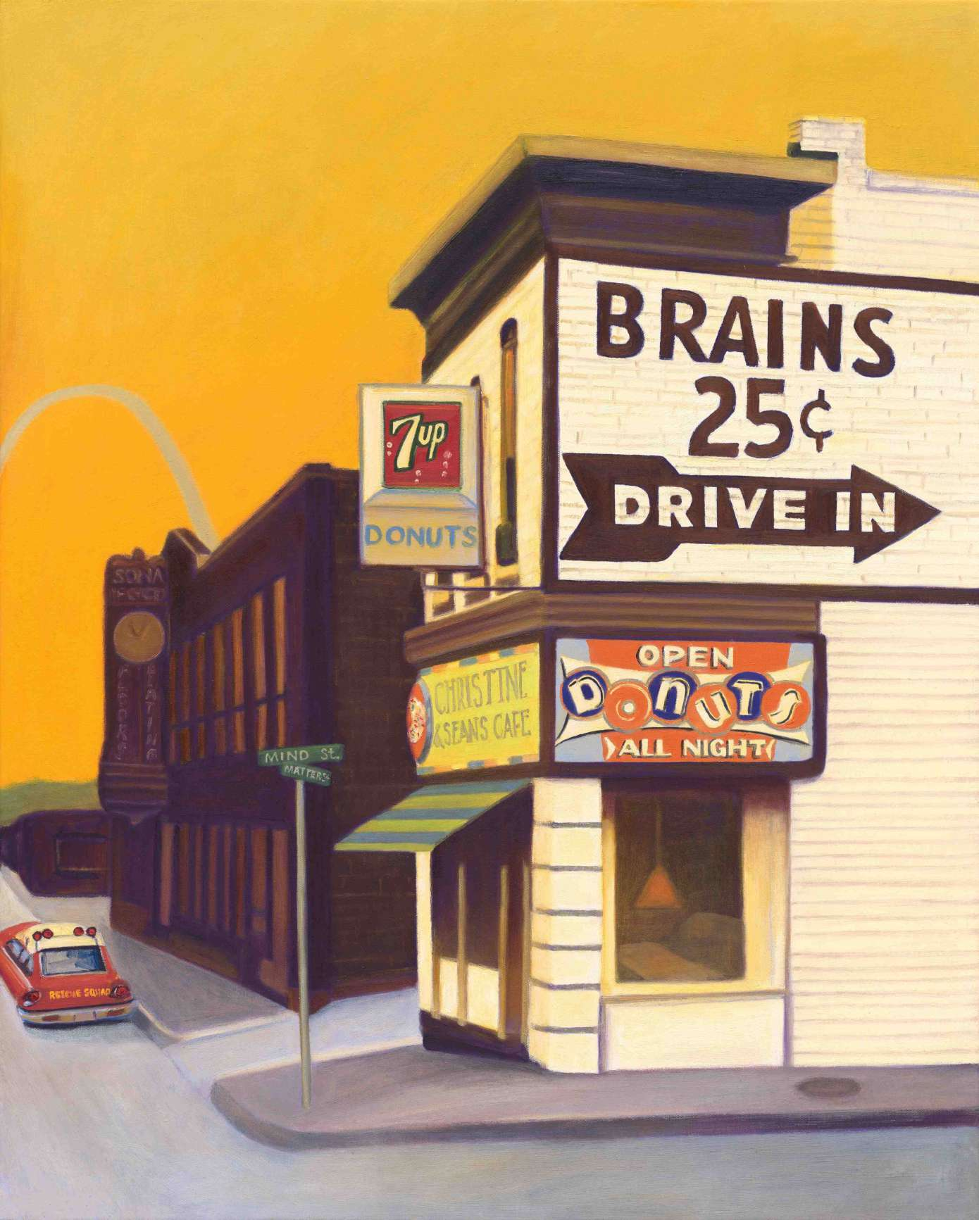 Brains and Donuts - Print