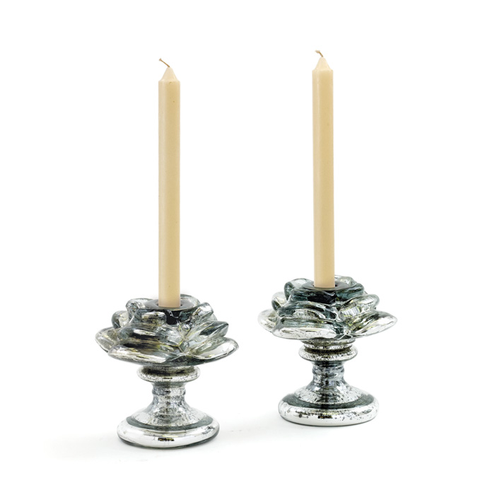 Pair Of Venice Candlesticks