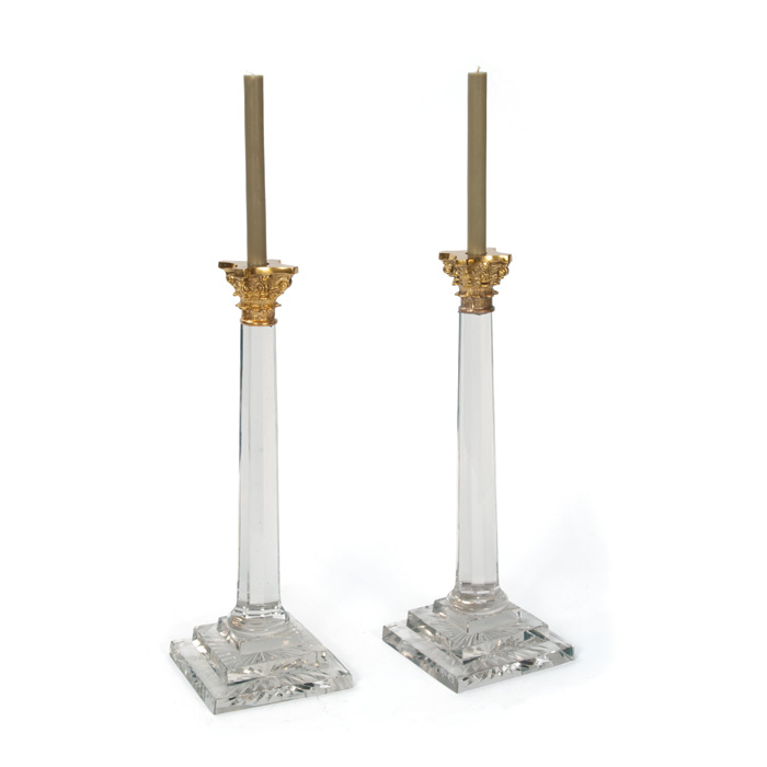 William & Kate Candlesticks