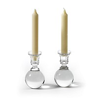 Pair Of Ball Candlesticks