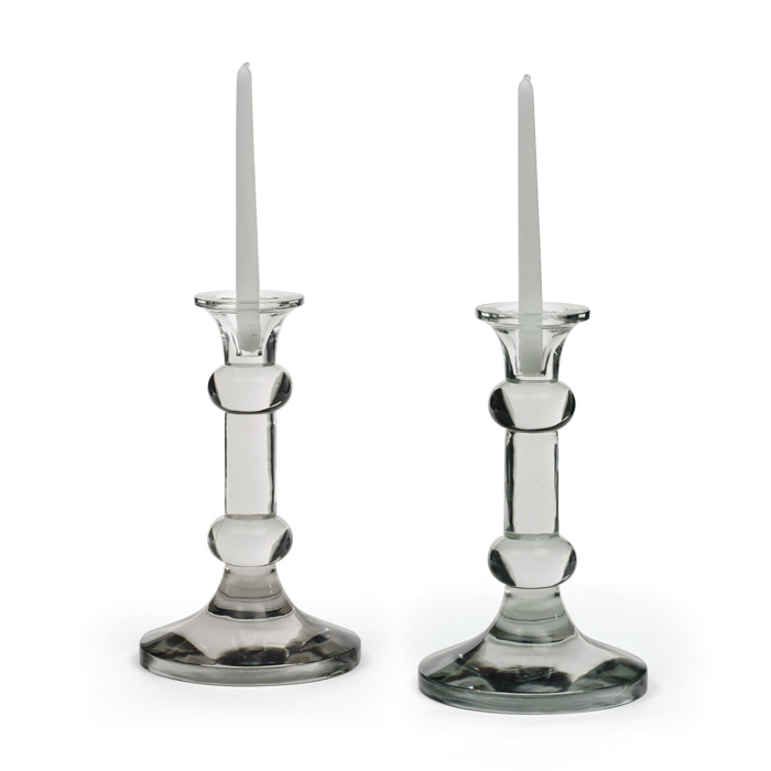 Knobbed Candlesticks