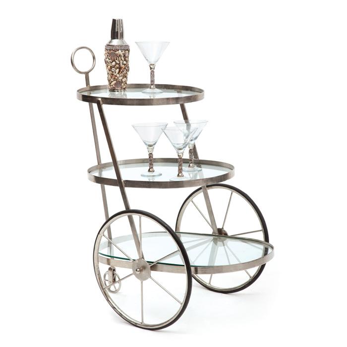 Miami Bar-Tea Cart