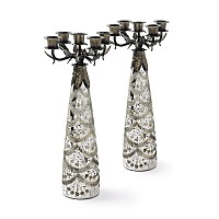 Pair Of Society Candelabras