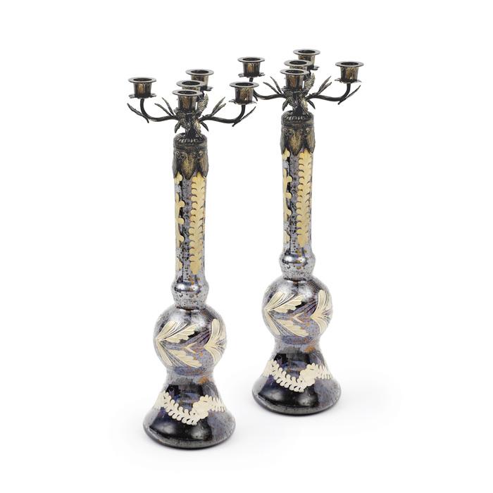 Pair Of Harston Candlesticks