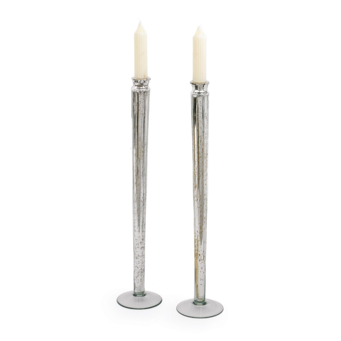 Pair Of Knitting Candlesticks