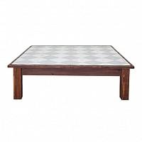 Farmhouse Coffee Table Square Diamonds