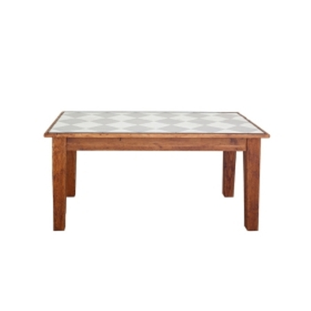 Farmhouse Rectangle Table 62 Diamonds