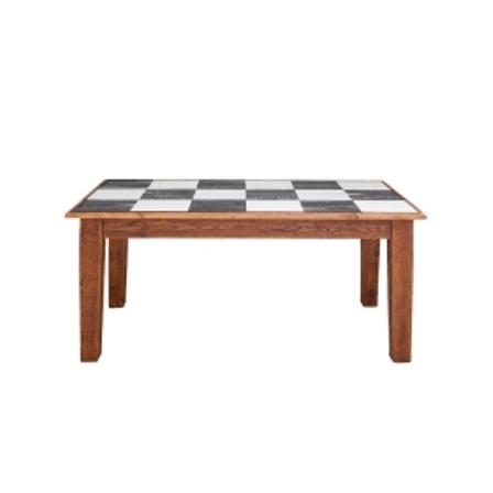 Farmhouse Rectangle Table 62 Checks