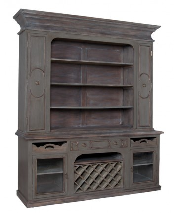 Prince Cabinet W/ Wine Rack