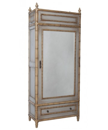 NEW Carved Bamboo Cabinet
