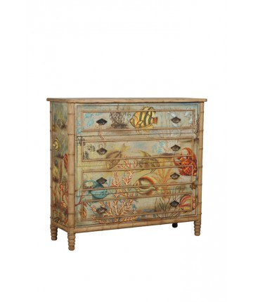 Island Cottage Chest