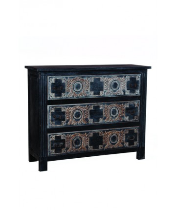 Moroccan Three Drawer Chest