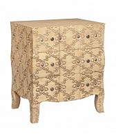 NEW Carved Italian Chest
