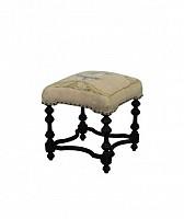 Acorn Cottage Ottoman Ash Black Stain