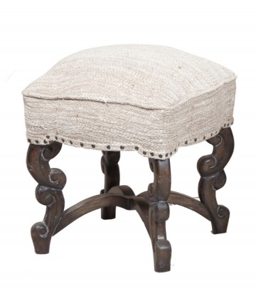 NEW Scrolled Stool