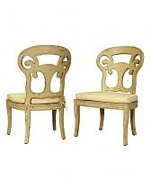 Verona Club Side Chair -Rosa