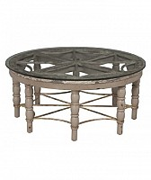 Artifacts Round Cocktail Table