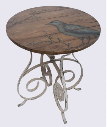 Curl Accent Table