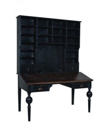 Heritage Desk with Shelves
