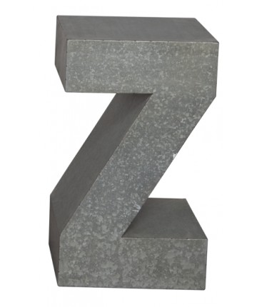NEW Tin 'Z' Garden Table