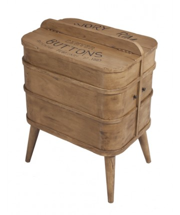 NEW Seamstress Box Accent Table