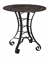 """NEW 36"""" Metal Bistro Table"""