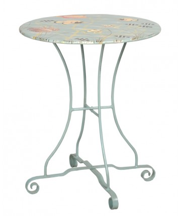 "NEW 24"" Metal Bistro Table"
