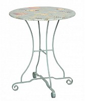 """NEW 24"""" Metal Bistro Table"""