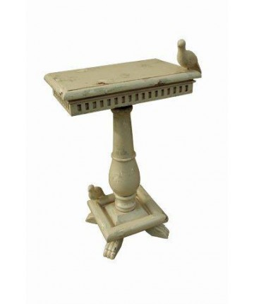 Socle Table With Bird