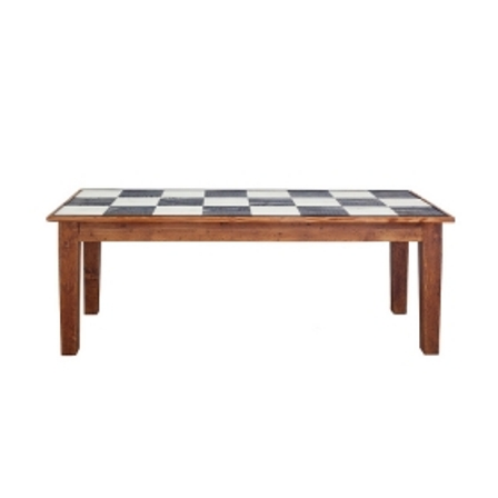 Farmhouse Rectangle Table 82 Checks