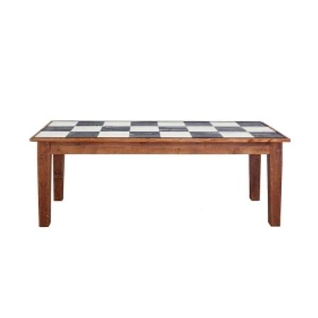 Farmhouse Rectangle Table 82 Checks