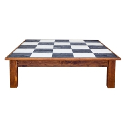 Farmhouse Coffee Table Square Checks