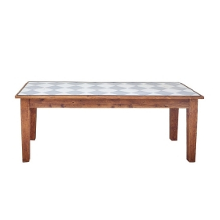 Farmhouse Rectangle Table 82 Diamonds