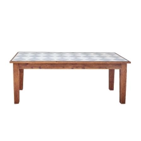 Farmhouse Rectangle Table 82 Diamonds
