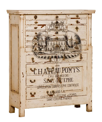 Vineyard Printer's Vintage Chest