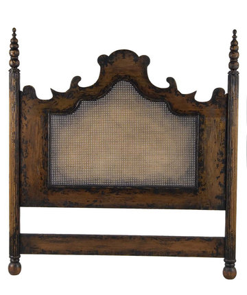 Vintage Headboard/Caned Inset (Queen)