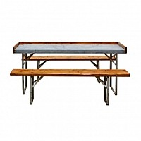 Potting Table with Galvi Top