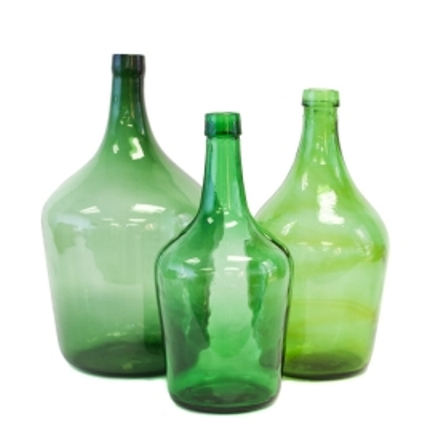 Demijon Bottle Green